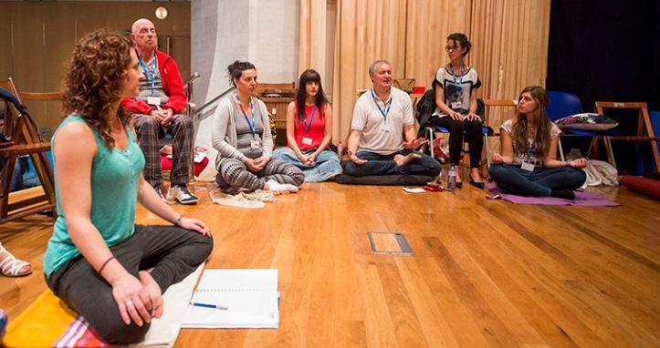 26-07-2016 Santander UIMP Taller de Mindfulness y compasión para el bienestar personal Javier García Campayo Fotos: Juan Manuel Serrano Arce